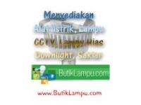ButikLampu